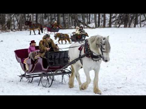 A Winter Sleigh Rally