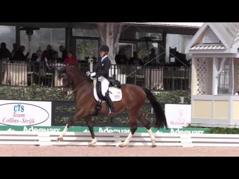 Tuny (Arlene) Page and Woodstock Riding the Grand Prix