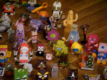 The Gathering of the Papertoys II