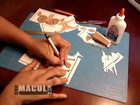 Paper Craft Tutorial (Deer)