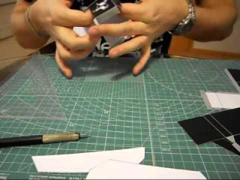 building a MechaBunny paper toy - part 1