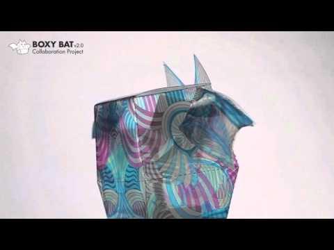 Boxy Bat v02 collaboration project feature designs