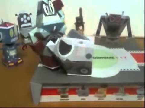 Paper Robot Carnage!