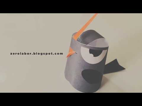PIPO Bird Paper toy