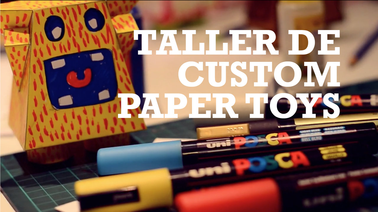 Taller de Custom Paper Toys - Kioshi Shimabuku