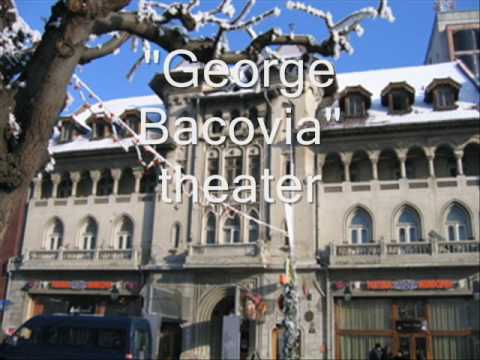 Romania - cities, towns, town halls, theatres, churches, fortresses etc. (George Enescu)