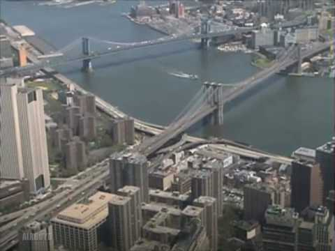 World Trade Center video, view from the top 1998