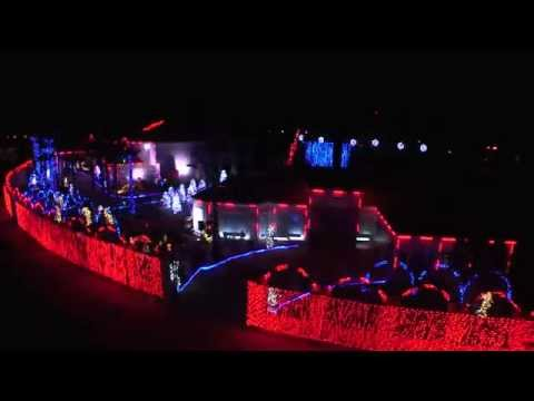 El Paso Christmas Light Show 2014 - Official HD