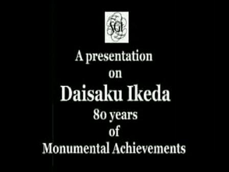 Sensei Daisaku Ikeda