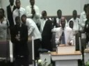 Pastor Bonner shouting the VICTORY!!