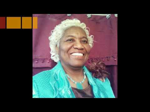 """Evangelist Dr. Ethel Taylor preacing """"Are You Still Connected""""?"""