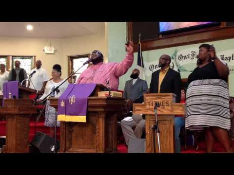 16-7-17 Mt. Enon Baptist Church With Minister Jerrick McCall