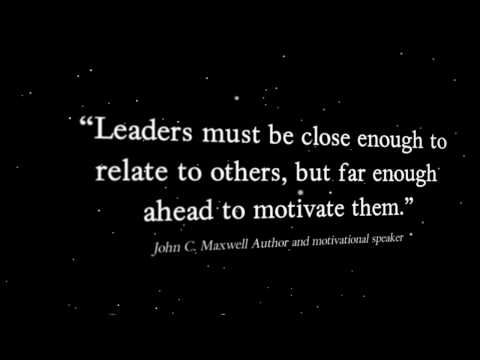 Are You a Leader? -Motivating