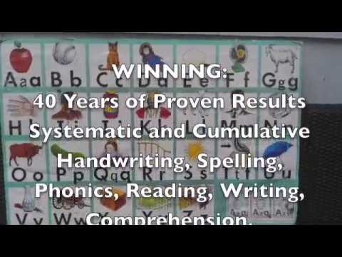 Adult Literacy Program -  Sue Dickson Sing, Spell, Read & Write  / WINNING