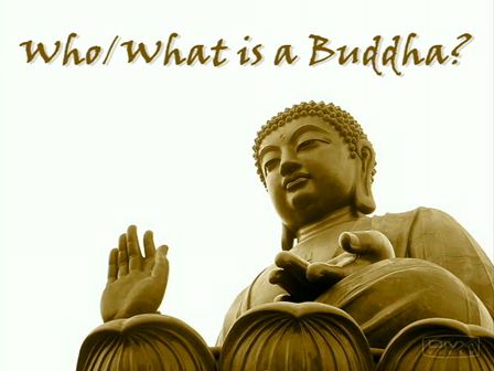 Who/What is a Buddha?