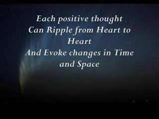 The Ripple Effect: the heartbeat to eternity
