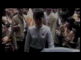Michael Stipe of R.E.M. on Aung San Suu Kyi of Burma