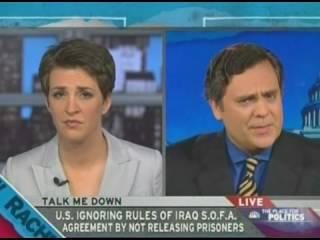 Bush Cheney War Criminals MSNBC broadcast January 9 2009