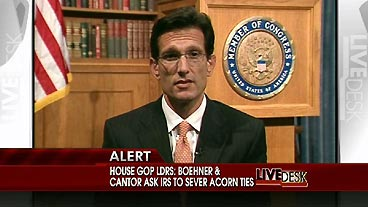 EricCantor Healthcare Reform  He claims as House Whip that the republicans want health care reform without the Public Option.