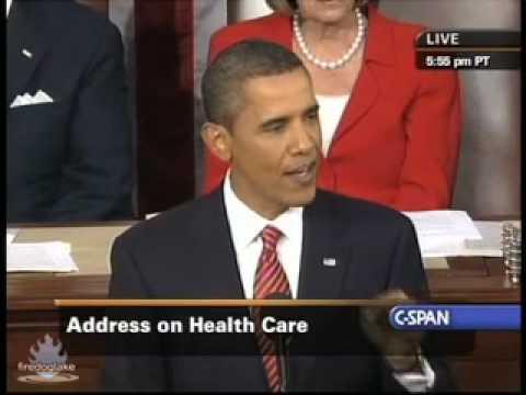 Obama Healthcare Speech before congress September 9 2009 part 5
