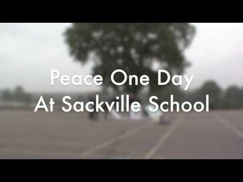 Peace One Day at Sackville School