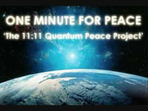 One Minute for Peace Project 2010