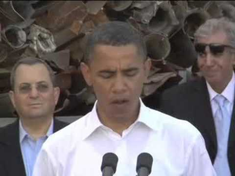 Obama visits Sderot Israel