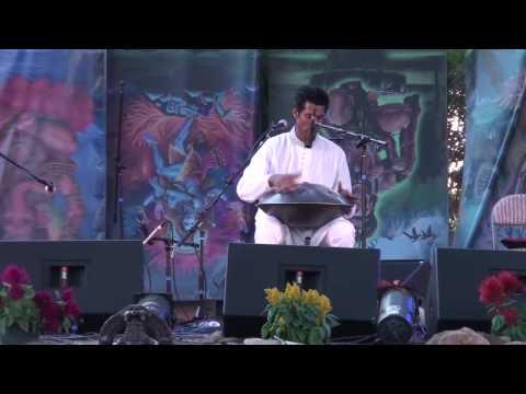 Hang Drum @ Bhakti Fest 09 ~ Masood Ali Khan ~ Dharma Dance