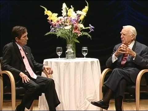 Cronkite interviews Kucinich regarding the Department of Peace