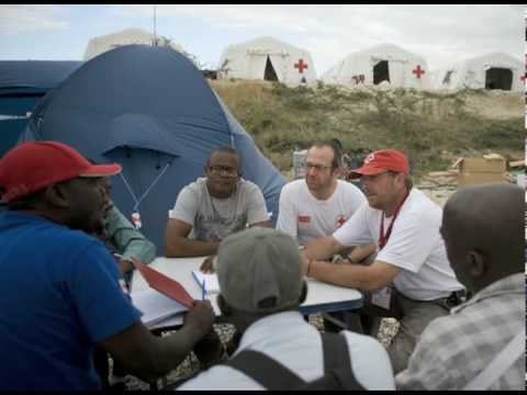 Haiti Relief: Red Cross Base Camp