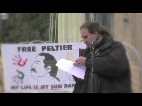 In the spirit of Crazy Horse by Leonard Peltier