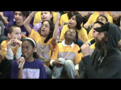 "PS22 Chorus & Matisyahu perform ""ONE DAY"""