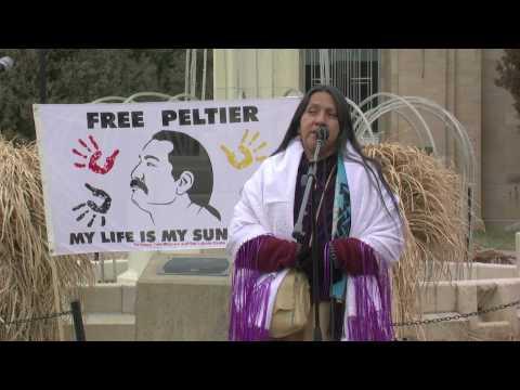 Marilyn Black Elk speaks on behalf of Leonard Peltier Part 2