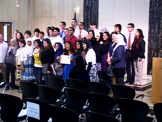 Abraham's Vision - 2010 Unity Program graduates - Muslim & Jewish teens