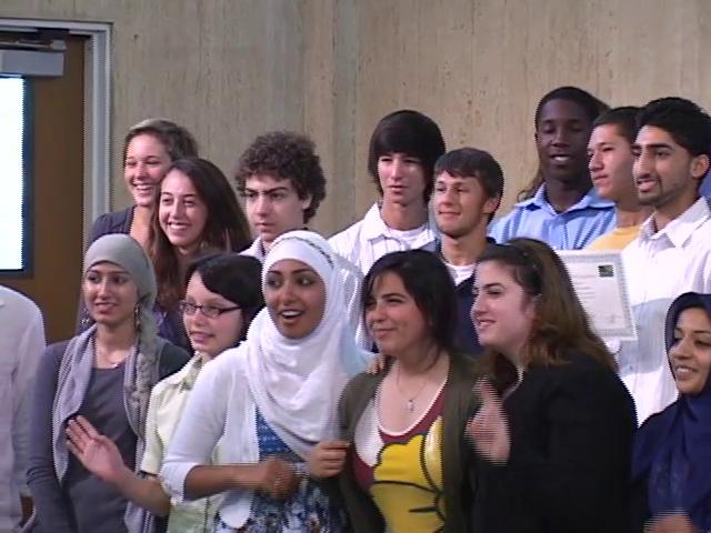 ABRAHAM'S VISION Graduation Day! - Muslim & Jewish youth learning together - 2010  (40 min)