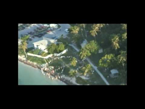Human Peace Sign of the Florida Keys