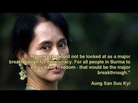 Aung San Suu Kyi - FREEDOM at last