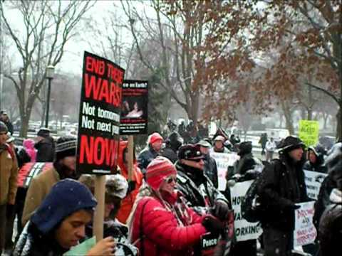 Veterans for Peace Message to Obama 12/16/2010 131 Arrested