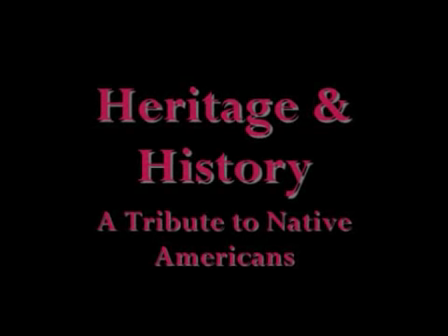 Heritage   History  A Tribute to Native Americans