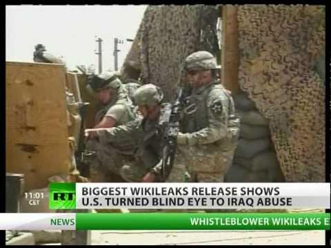 WikiLeaks Iraq War Logs: Torture, civilian death toll revealed in latest leak