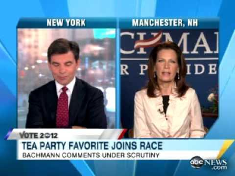 Bachmann clueless on History