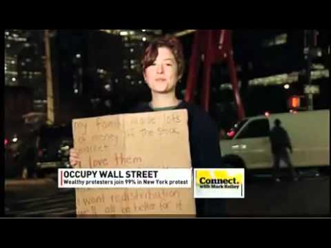 Jessie Spector of Resource Generation: the 1% stands with Occupy Wall Street