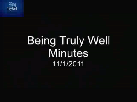 BeingTrulyWell 110111