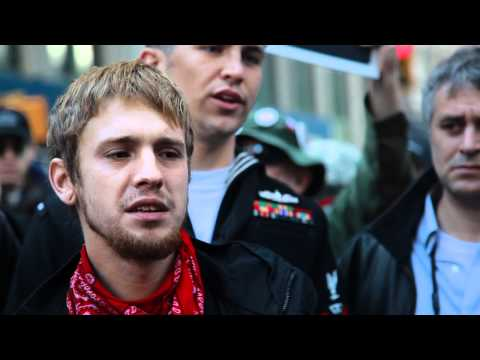 Voices of Veterans at Occupy Wall Street