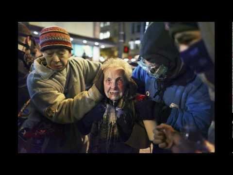 Occupy Seattle Dorli Rainey Pepper Sprayed 84 years old