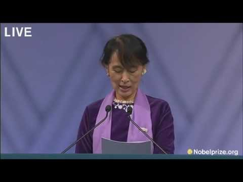 Aung San Suu Kyi speech in Norway on June 16, 2012