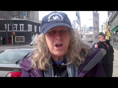 OUR STORIES | Veterans for Peace hold anti-drone rally in Cedar-Riverside