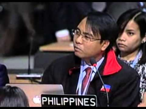Tearful Philippines Delegate Announces Hunger Strike Demanding Climate Change Action 11-11-13