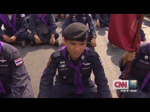 When Police And Protestors Make Peace