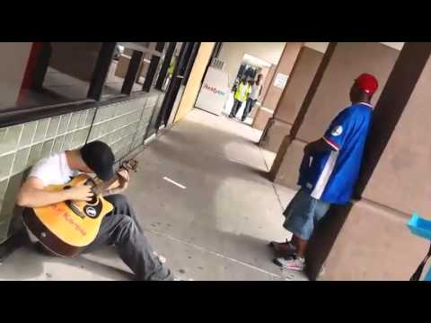 Awesome Jam Session - Three Strangers Sing Together